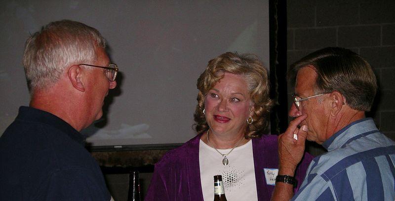 John McClellan, Arlan and Kathy (Lucas - '65) Wehnes