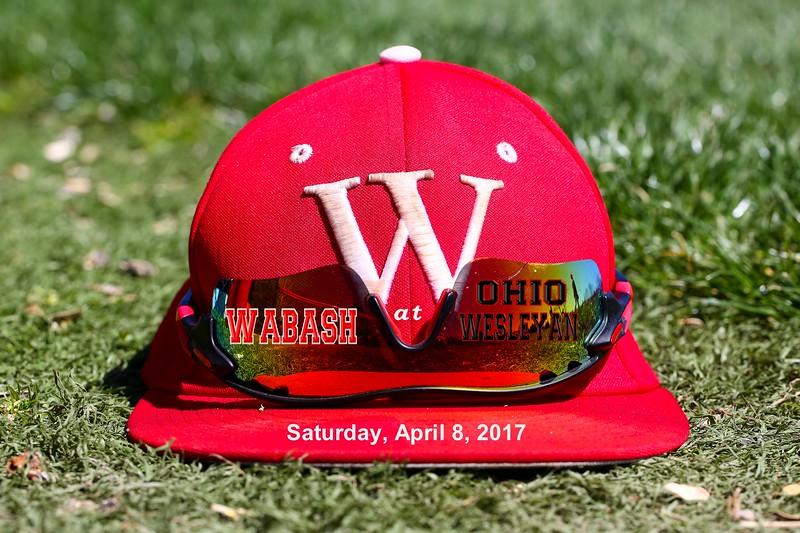 Wabash College Little Giants at Ohio Wesleyan University Battlin' Bishops - Saturday, April 8, 2017