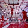 Pregame Warmups - Saturday, February 15, 2014 - Wabash College Little Giants at Denison University Big Red