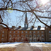 Kenyon College Campus - Saturday, February 22, 2014 - Wabash College Little Giants at Kenyon College Lords located in Gambier, Ohio