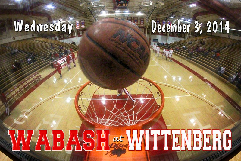 Wabash College Little Giants at Wittenberg University Tigers - Wednesday, December 3, 2014