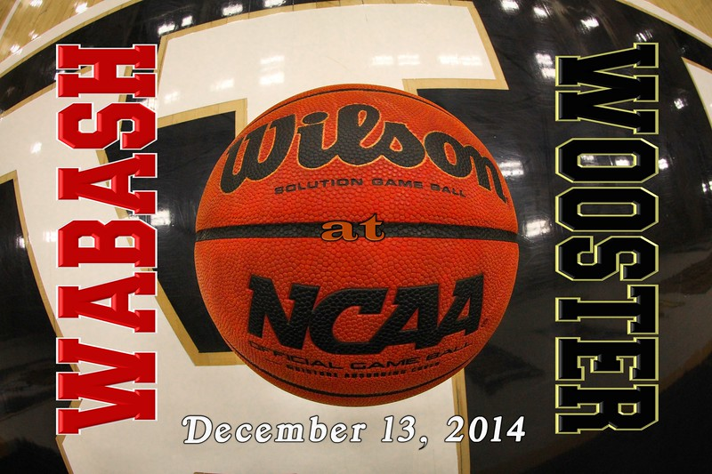 Wabash College Little Giants at The College of Wooster Fighting Scots - Saturday, December 13, 2014