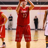2nd Half - NCAC League Championship Semi-Final Game held on the Campus of Ohio Wesleyan University located in Delaware, Ohio - Wabash College Little Giants versus the College of Wooster Fighting Scots - Friday, February 27, 2015