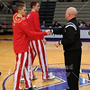 Team Captains - Wabash College Little Giants at Kenyon College Lords - Saturday, January 17, 2015