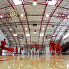 Pregame Warm-ups - Wabash College Little Giants at Denison University Big Red - Saturday, February 13, 2016