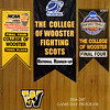 Official Game Program - Wabash College Little Giants at The College of Wooster Fighting Scots - Saturday, January 21, 2017
