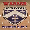 Wabash College Little Giants at Kenyon College Lords - Saturday, December 9, 2017