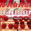 Wabash College Little Giants at Denison University Big Red - Saturday, February 17, 2018