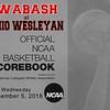 Wabash College Little Giants at Ohio Wesleyan University Battlin' Bishops - Wednesday, December 5, 2018