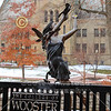 The College of Wooster Campus Sites - NCAC League Championship Semi-Final - Wabash College Little Giants versus Wittenberg University Tigers - Tournament Site: The College of Wooster - Friday, February 22, 2019