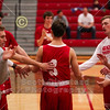 Team Introductions - Wabash College Little Giants at Denison University Big Red - Saturday, January 18, 2019