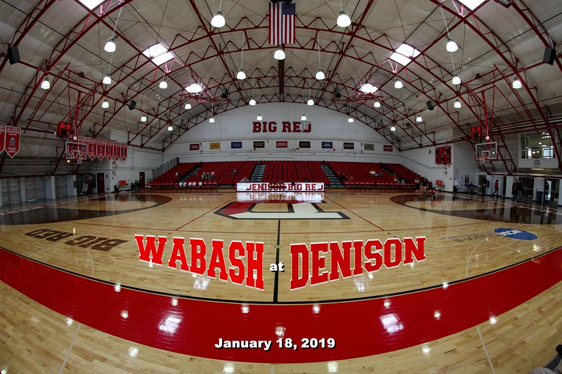 Wabash College Little Giants at Denison University Big Red - Saturday, January 18, 2019