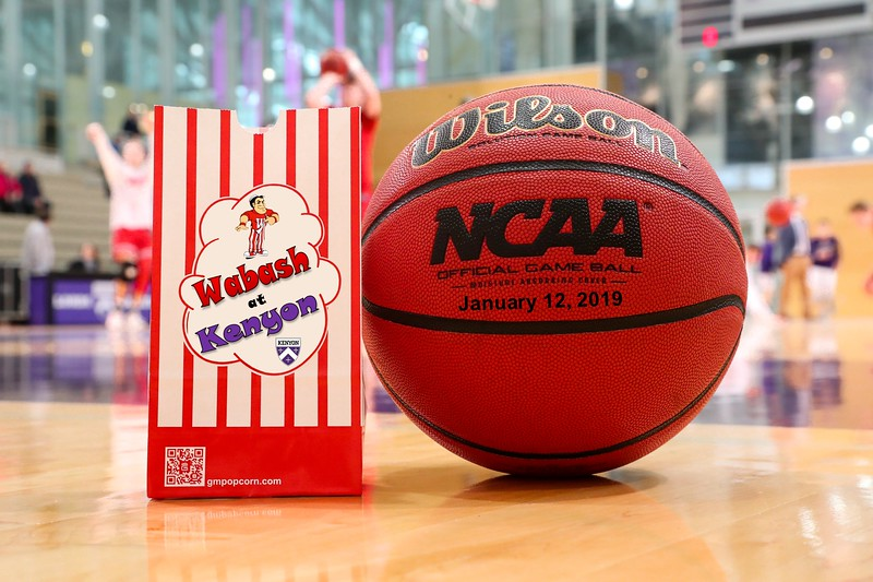 Wabash College Little Giants at Kenyon College Lords - Saturday, January 12, 2019