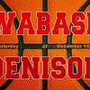 Wabash College Little Giants at Denison University Big Red - Saturday, December 14, 2019