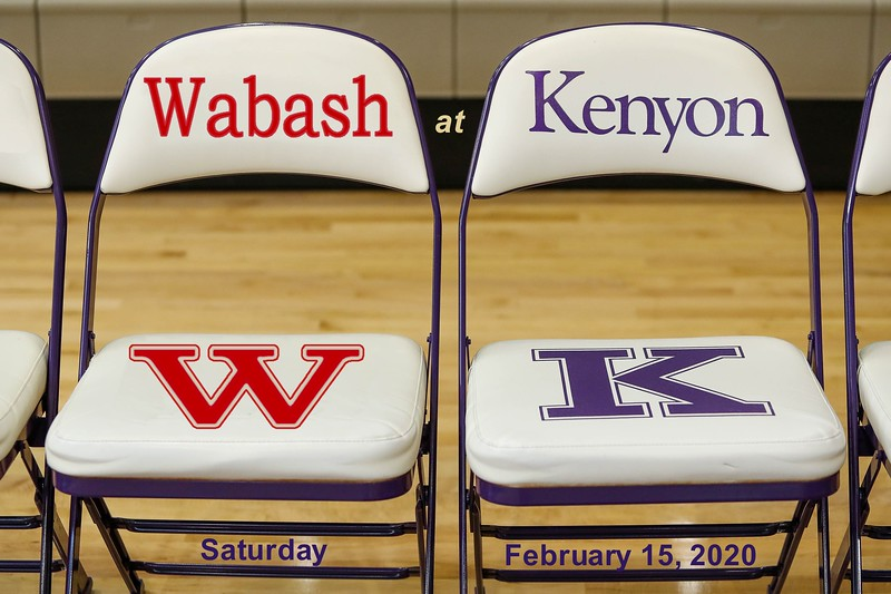 Wabash College Little Giants at Kenyon College Lords - Saturday, February 15, 2020