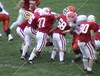 Monday, September 17, 2001 - Anderson Ravens at the Wabash College Little Giants - Junior Varsity Game - (Shot using an inexpensive digital camera)