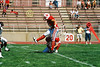 It's Up. . . It's Good!  Holder (10) Dustin DeNeal and place kicker (44) Olmy Olmstead - September 20, 2003 Earlham Quakers at the Wabash Little Giants   (Old Canon AE-1 35mm film camera)