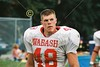 (48) Nick Fanelli - September 13, 2003 Wabash College Little Giants at Kalamazoo College Hornets   (Old Canon AE-1 35mm film camera)