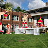 Fraternity Homecoming Floats - Saturday, September 21, 2013 - Denison University Big Red at Wabash College Little Giants