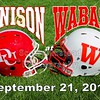 Saturday, September 21, 2013 - Denison University Big Red at Wabash College Little Giants - Homecoming 2013