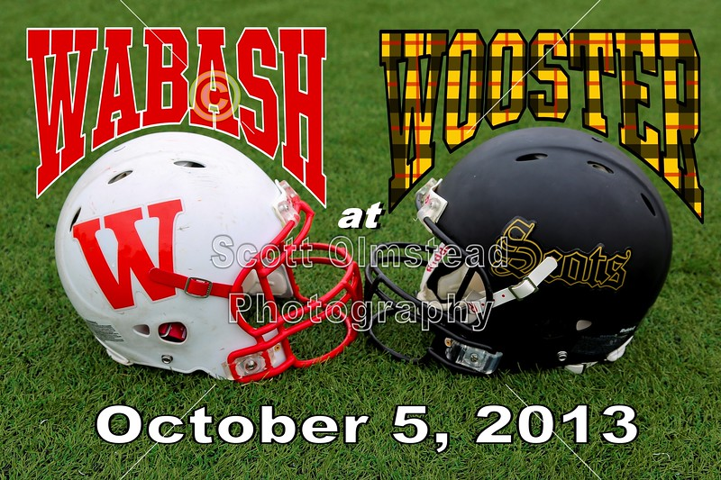 Saturday, October 5, 2013 - Wabash College Little Giants at The College of Wooster Fighting Scots
