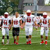 Team Captains and the Coin Toss - Saturday, October 5, 2013 - Wabash College Little Giants at The College of Wooster Fighting Scots