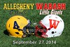 Allegheny College Gators at Wabash College Little Giants - Saturday, September 27, 2014
