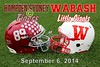 Hampden-Sydney College Tigers at Wabash College Little Giants in the first ever Gentlemen's Classic - Saturday, September 6, 2014