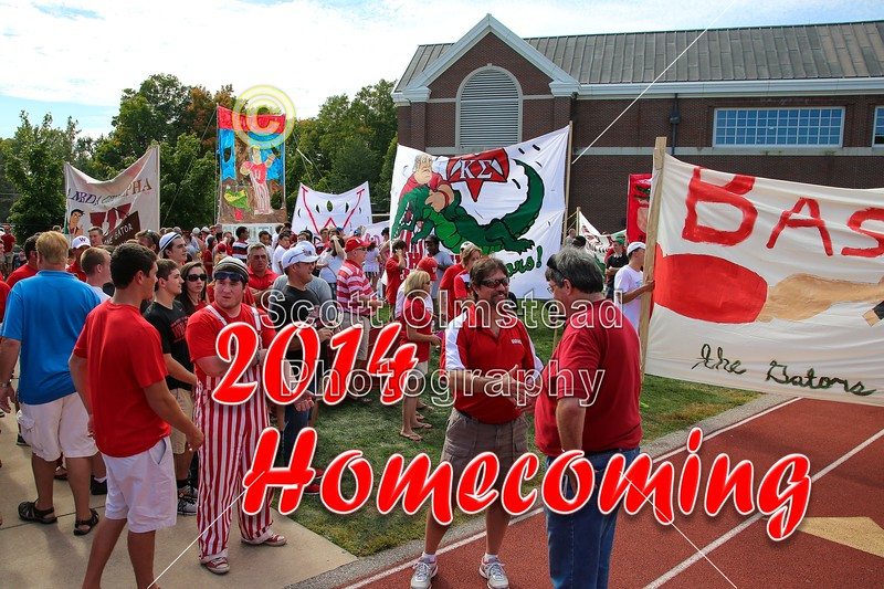 2014 Wabash College Homecoming Celebration - Allegheny College Gators at Wabash College Little Giants - Saturday, September 27, 2014