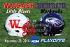 NCAA DIVISION III PLAYOFFS - Wabash College Little Giants at University of Wisconsin-Whitewater Warhawks - Saturday, November 29, 2014