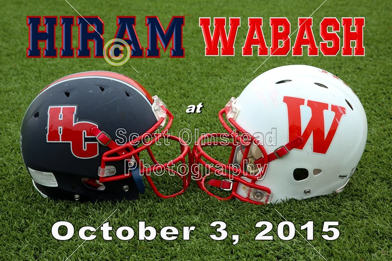 Homecoming - Hiram College Terriers at Wabash College College Little Giants - Saturday, October 3, 2015