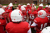 Pregame Warmups - Thomas More College Saints at Wabash College Little Giants - Saturday, November 28, 2015 - Second Round of the NCAA Division III National Championship Playoffs