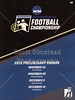 Official Game Day Program - Thomas More College Saints at Wabash College Little Giants - Saturday, November 28, 2015 - Second Round of the NCAA Division III National Championship Playoffs