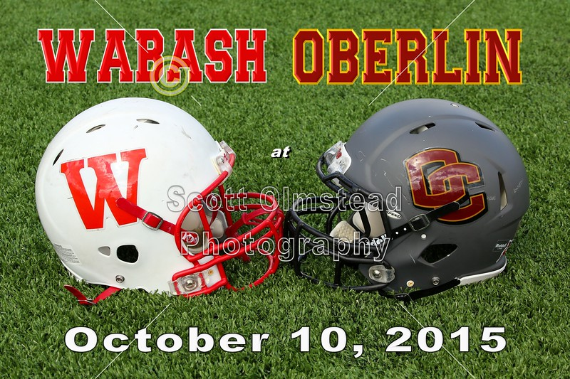 Wabash College Little Giants at Oberlin College Yeomen - Saturday, October 10, 2015