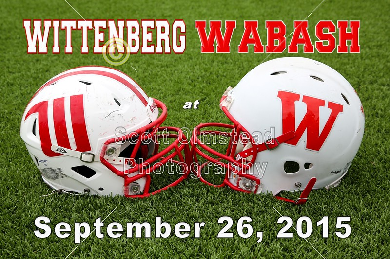 Wittenberg University Tigers at Wabash College Little Giants - Saturday, September 26, 2015