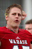 """The Singing of """"Old Wabash"""" - Wittenberg University Tigers at Wabash College Little Giants - Saturday, September 26, 2015"""