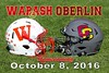 Oberlin College Yeomen at Wabash College Little Giants - Homecoming 2016 - Saturday, October 8, 2016