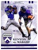 Official Game Program - Wabash College Little Giants at Kenyon College Lords - Saturday, October 15, 2016