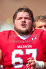 "The Singing of ""Old Wabash"" after another Victory - Albion College Britons at Wabash College Little Giants - Senior Day - Saturday, September 2, 2017"
