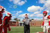Team Captains and the Coin Toss - Denison University Big Red at Wabash College Little Giants - Saturday, October 7, 2017