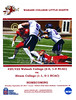 Official Game Program - Hiram College Terriers at Wabash College Little Giants - Homecoming - Saturday, September 23, 2017