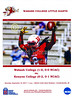Official Game Program - Kenyon College Lords at Wabash College Little Giants - Saturday, September 16, 2017