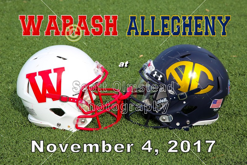 Wabash College Little Giants at Allegheny College Gators - Saturday, November 4, 2017