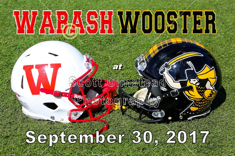Wabash College Little Giants at the College of Wooster Fighting Scots - Saturday, September 30, 2017