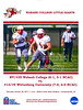 Official Game Program - Wittenberg University Tigers at Wabash College Little Giants - Saturday, October 28, 2017