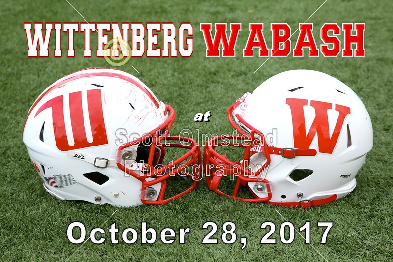 Wittenberg University Tigers at Wabash College Little Giants - Saturday, October 28, 2017