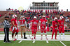 Team Captains and the Coin Toss - Wittenberg University Tigers at Wabash College Little Giants - Saturday, October 28, 2017