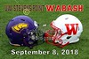 UW-Stevens Point Pointers at Wabash College Little Giants - Senior Day - Saturday, September 8, 2018