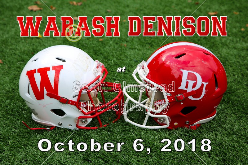 Wabash College Little Giants at Denison University Big Red - Saturday, October 6, 2018