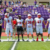 Team Captains and the Coin Toss - Wabash College Little Giants at Kenyon College Lords - Saturday, September 15, 2019